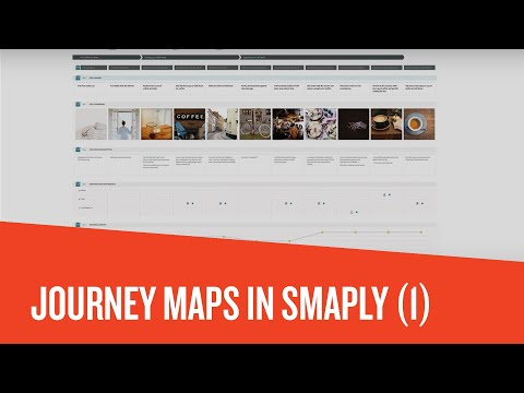 How to create a customer journey map with Smaply (Part 1) - YouTube
