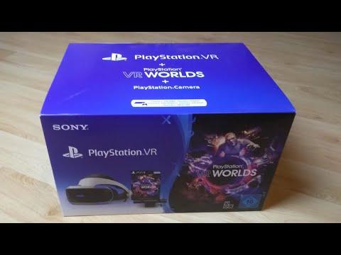 Playstation VR World - Bundle mit Brille und Kamera # Unboxing Review