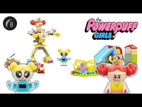 Vidéo LEGO Les Super Nanas (The Powerpuff Girls) 41287 : La bataille de Bulle dans la cour de récréation