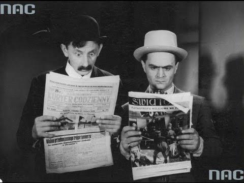 Dwanaście krzeseł [1933] Polska komedia - Adolf Dymsza