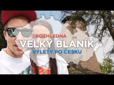 Výlety po Česku #1 - Rozhledna Velký Blaník [ VLOG ]