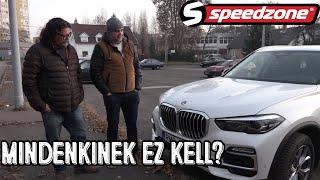 Speedzone teszt: BMW X5 30d xDrive: Mindenkinek ez kell?