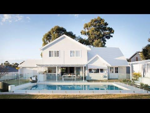 Pool, Alfresco Area + Bar Reveal, Episode 6 | Colour Me Hamptons Renovation | House 11