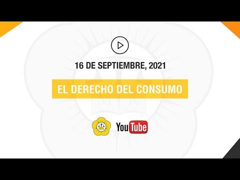 EL DERECHO DEL CONSUMO - 16 de Septiembre 2021