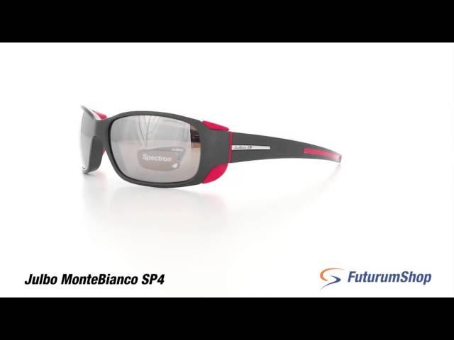 Видео Очки Julbo Montebianco Black/orange neon Reactiv Cameleon Brown