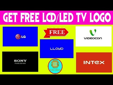 How to get and download LCD LED TV logo