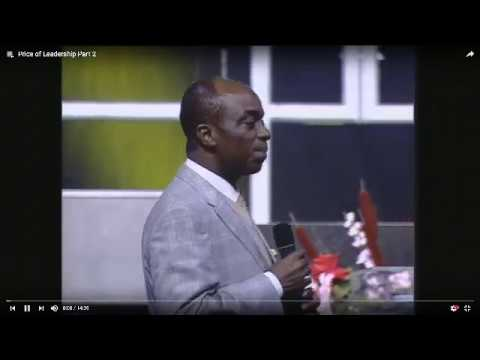 The #Leadership #Price By Bishop David #Oyedepo