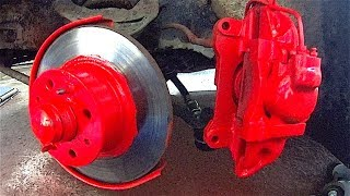 How to Paint Brake Calipers easily and quickly