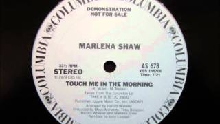 Marlena Shaw   Touch Me In The Morning (Disco Mix).wmv