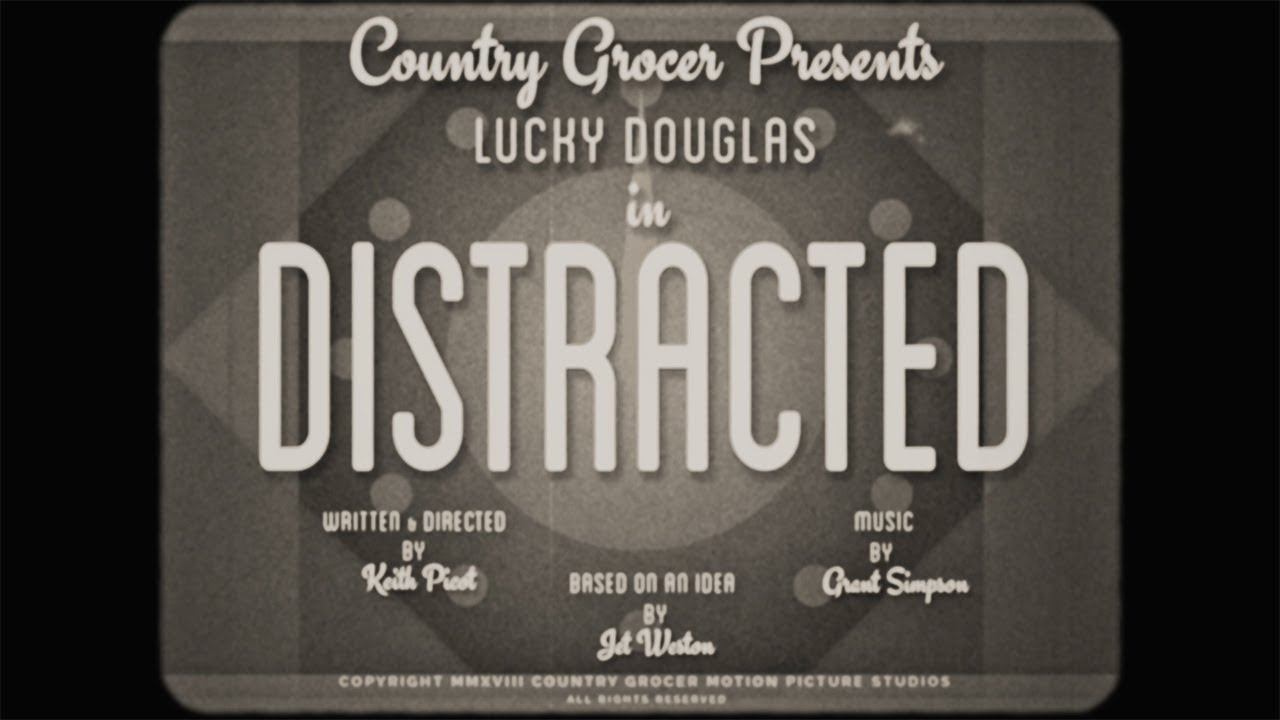 """Distracted"" A silent film for the greater good!"
