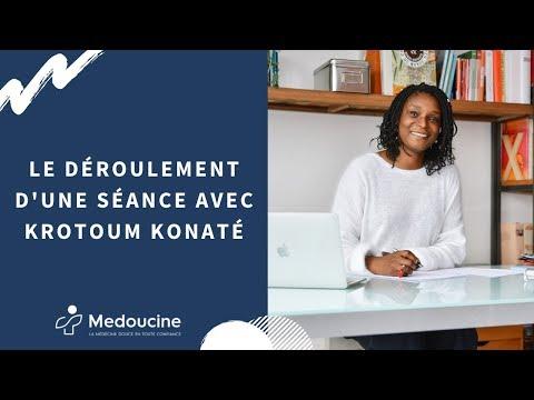 Le déroulement d'une séance avec Krotoum Konaté