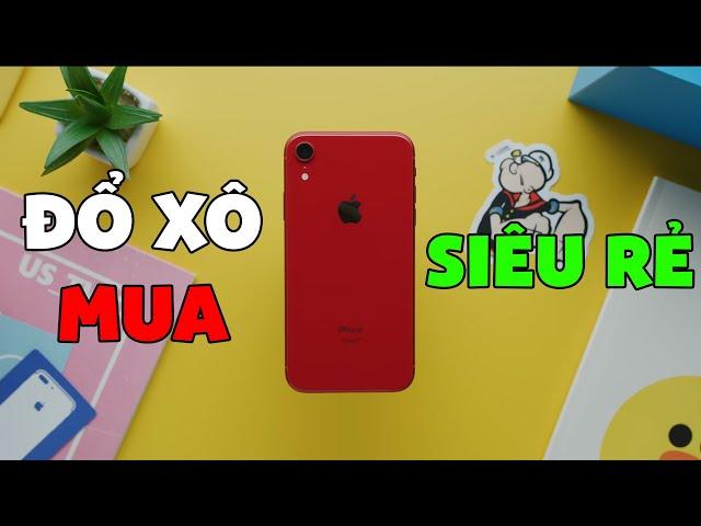 Đổ xô mua iPhone XR giá SIÊU RẺ