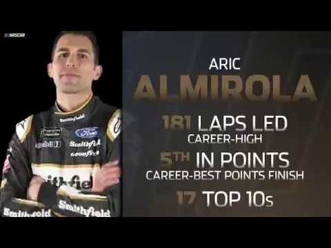 Year in Review: Aric Almirola