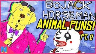 BoJack Horseman: Every HIDDEN Pun & Animal Joke In Season Two!
