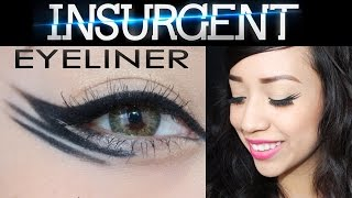 4 Insurgent Inspired Eyeliner Looks with NaturallyBelleXO