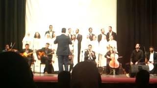 preview picture of video 'موطني - حفل كورال الجامعة الأردنية'