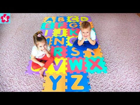 ABC Song  Learn English Alphabet for Children with Nil and Nelly , Kids Nursery Rhymes