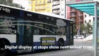 ALICANTE AIRPORT SHUTTLE BUS C6