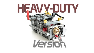 LEGO Technic 8 SPEED SEQUENTIAL GEARBOX V3 with Instructions