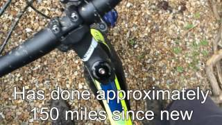 GT Avalanche Sport 2016 (problem review - front brake and gears)