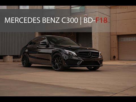2018 Mercedes C300 | BD-F18 Gloss Black
