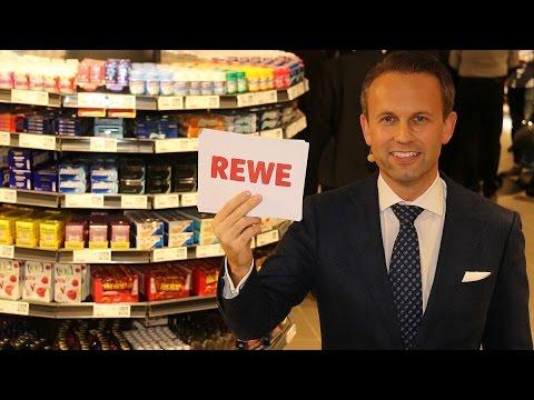 REWE Premium-Markt in den Fünf Höfen - Eröffnung am 11.12.2015