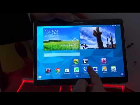 Samsung Galaxy Tab S 10.5, anteprima dalla presentazione Italiana