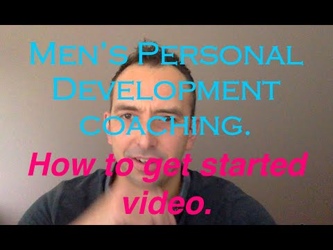 Information on beginning men's personal development coaching with men's coach Aaron Ellen. What's involved - Who is it for - How does it work - How to get started.