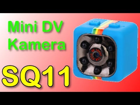 SQ11 - Mini DV Kamera - FULL HD - TEST -