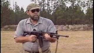 Full auto machine gun Galil / AK 47