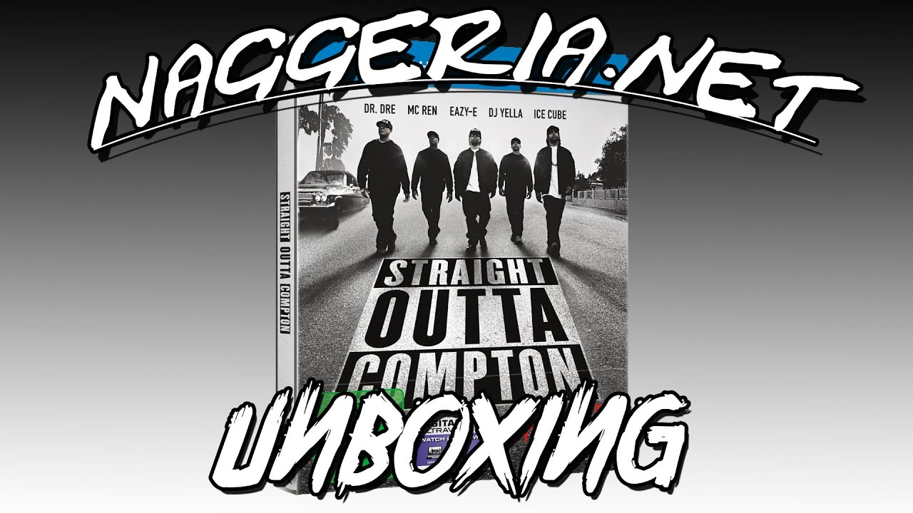 Straight Outta Compton – Limited Edition Steelbook (Unboxing)