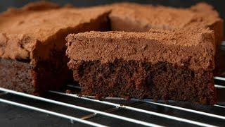 THE BEST VEGAN CHOCOLATE CAKE | STEVES FAVOURITE