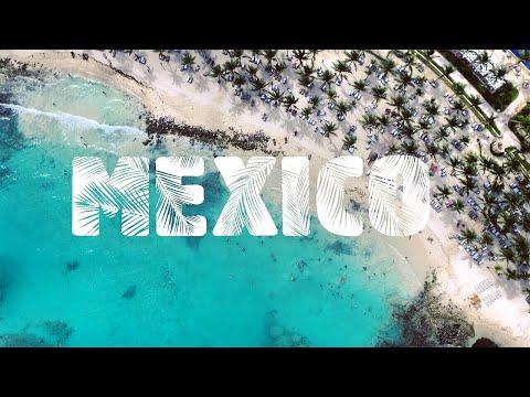 Drone Footage Of The Barcelo Maya Resort Beach & Mexico's Beautiful Riveria Coastline DJI Phantom 3