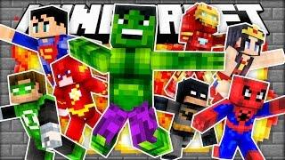 Becoming A Superhero In Roblox - Preston Becomes A Super Hero Minecraft Mod Showcase