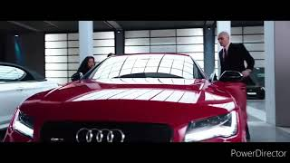 Hit man movie car song audi A6