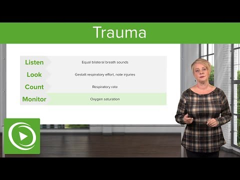 Trauma: Primary Survey, ABCDE-Assessments & Take-home points – Emergency Medicine | Lecturio