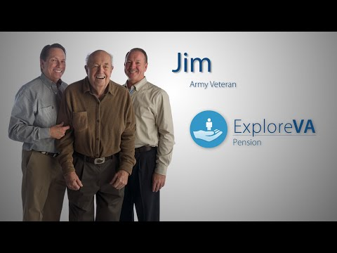Jim's pension benefits help cover his daytime care.