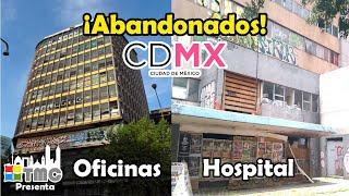 LUGARES ABANDONADOS EN LA CIUDAD DE MÉXICO ¡QUE TIENES QUE CONOCER! - PARTE 1