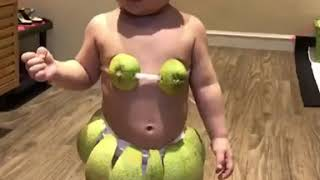 巧手媽為寶寶「打造超Q比基尼」