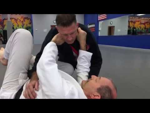 Ryote Jime (Both Hands Choke) - Judo technique for BJJ