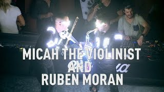 Micah the Violinist and Ruben Moran  Amnesia Ibiza 2015
