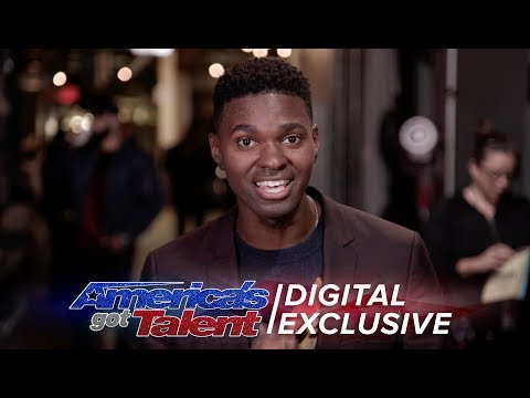 Elimination Interview: Johnny Manuel Touches Hearts With This Message - America's Got Talent 2017 (видео)