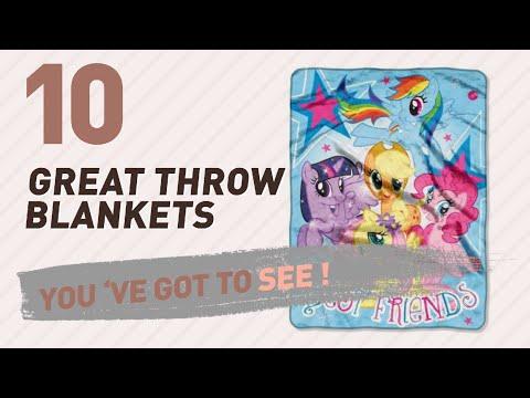 My Little Pony Throw Blankets // New & Popular 2017