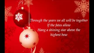 The Cheetah Girls - Have Yourself A Merry Little Christmas Lyrics HD