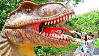 恐竜公園?中身は何ですか! The world of dinosaurs with Boram!