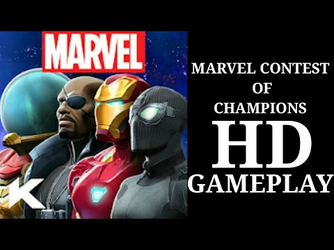 MARVEL CONTEST OF CHAMPIONS ANDROID HD GAMEPLAY IN TAMIL