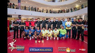 Kejohanan Sepak Takraw Utusan 2017 - Terbuka (GASTEP B Vs Putera Darat F)