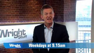 Here's what's coming up on The Wright Stuff next week