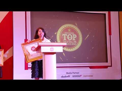 Eagle Raih Penghargaan Indonesia Top Digital Public Relation 2020