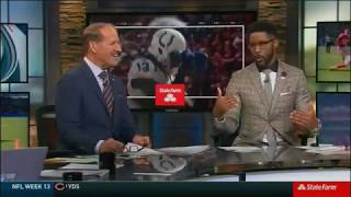 NFL on CBS SateFarm Post Game Show 2018 week 13